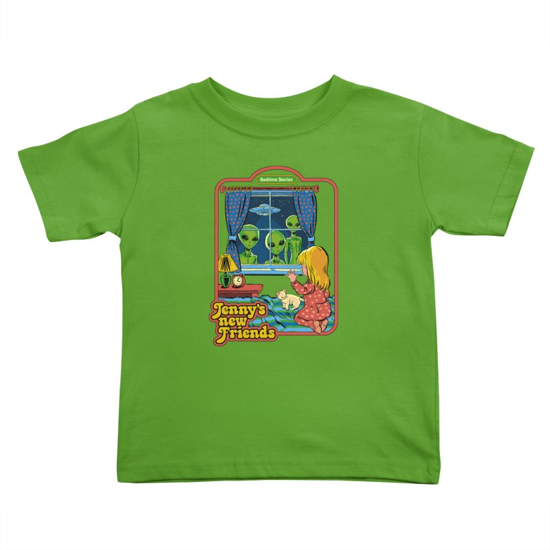 Jenny's New Friends Kids Toddler T-Shirt by Steven Rhodes