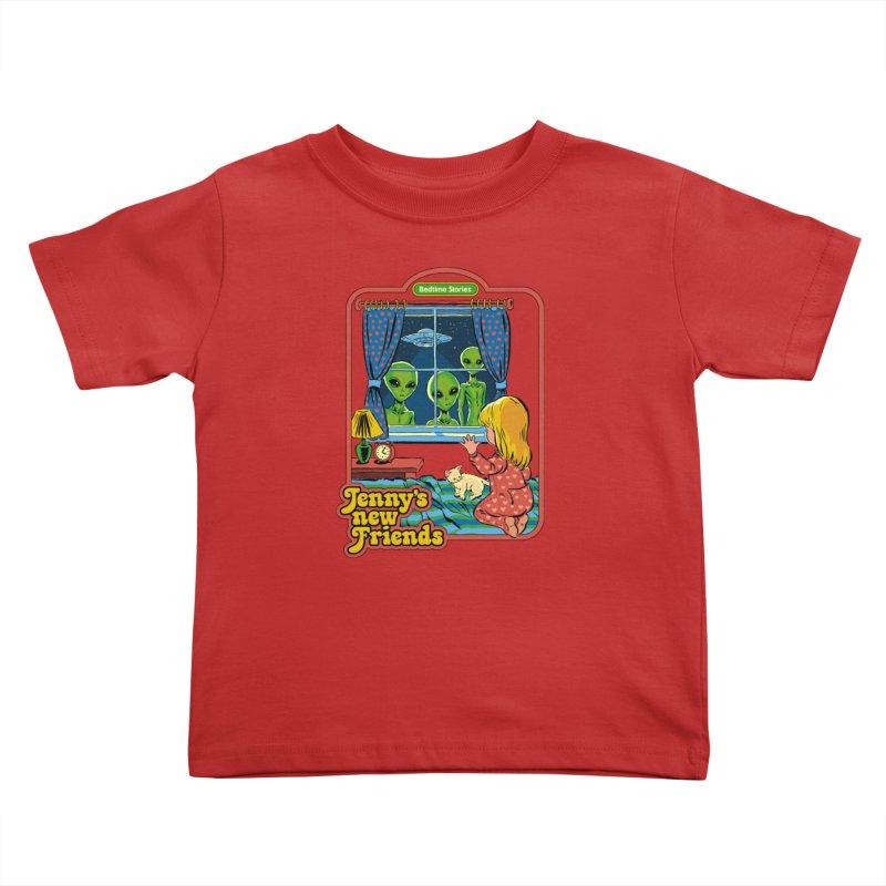 Jenny's New Friends Kids Toddler T-Shirt by Steven Rhodes
