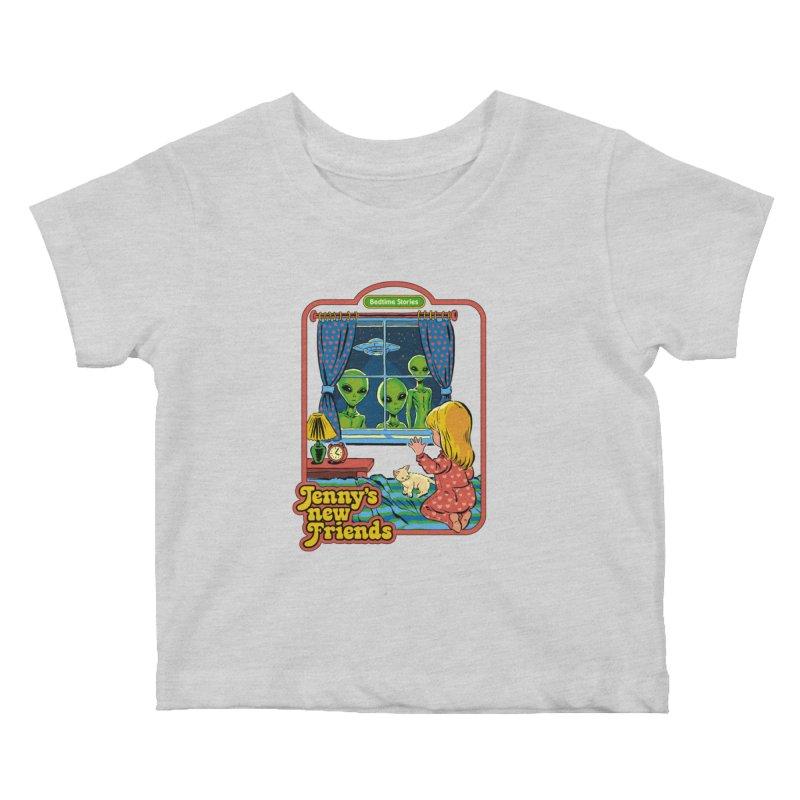 Jenny's New Friends Kids Baby T-Shirt by Steven Rhodes