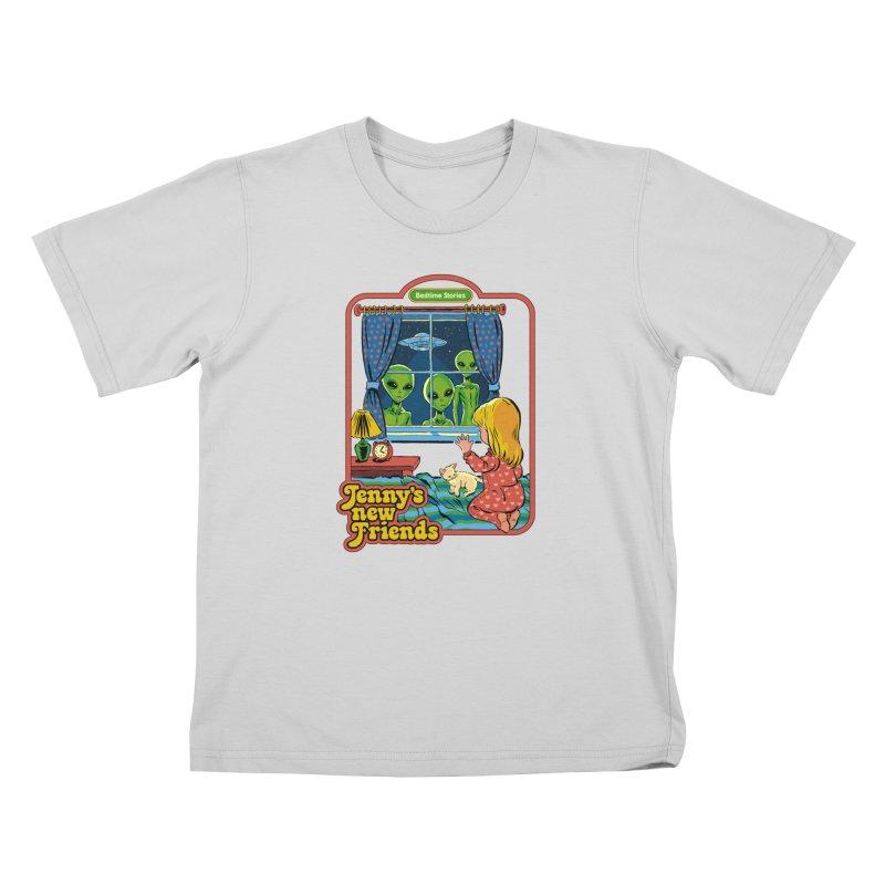 Jenny's New Friends Kids T-Shirt by Steven Rhodes