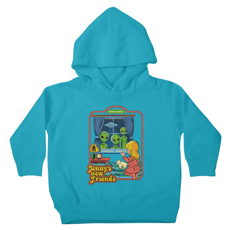 Jenny's New Friends Kids Toddler Pullover Hoody by Steven Rhodes