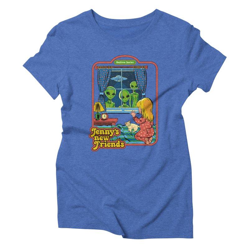 Jenny's New Friends Women's Triblend T-Shirt by Steven Rhodes