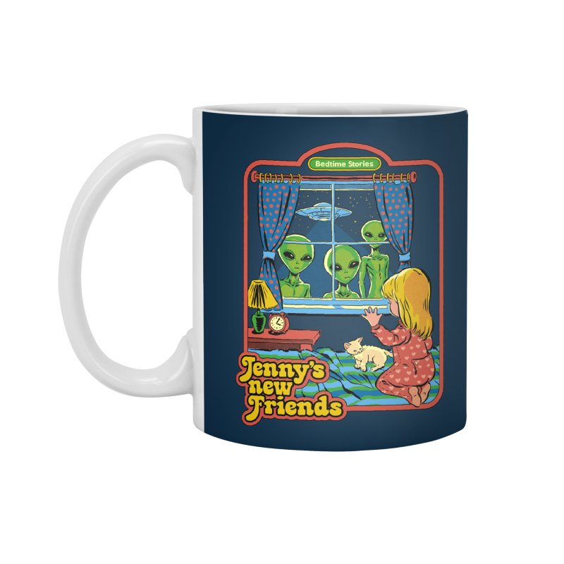 Jenny's New Friends Accessories Mug by Steven Rhodes