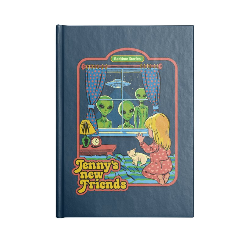 Jenny's New Friends Accessories Notebook by Steven Rhodes