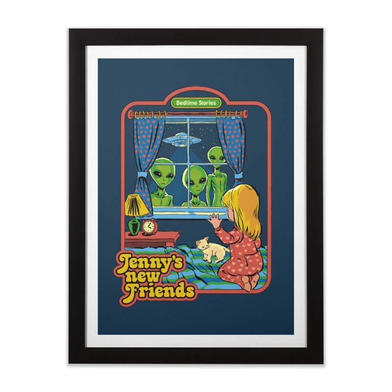 Jenny's New Friends Home Framed Fine Art Print by Steven Rhodes