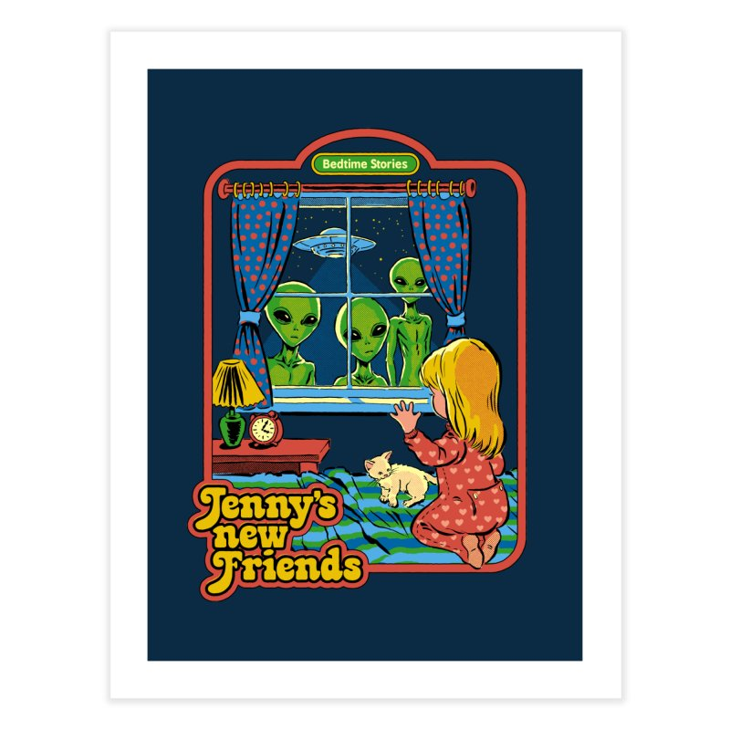 Jenny's New Friends Home Fine Art Print by Steven Rhodes
