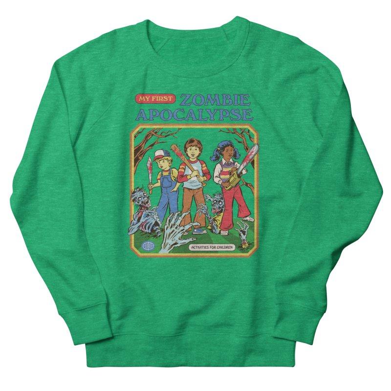 My First Zombie Apocalypse Women's Sweatshirt by Steven Rhodes