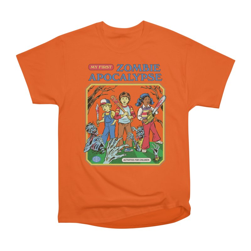 My First Zombie Apocalypse Women's T-Shirt by Steven Rhodes