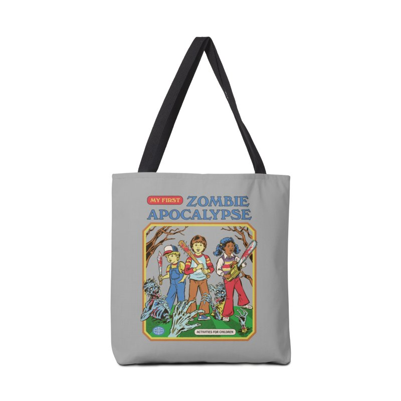 My First Zombie Apocalypse Accessories Tote Bag Bag by Steven Rhodes