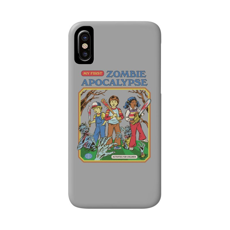 My First Zombie Apocalypse Accessories Phone Case by Steven Rhodes