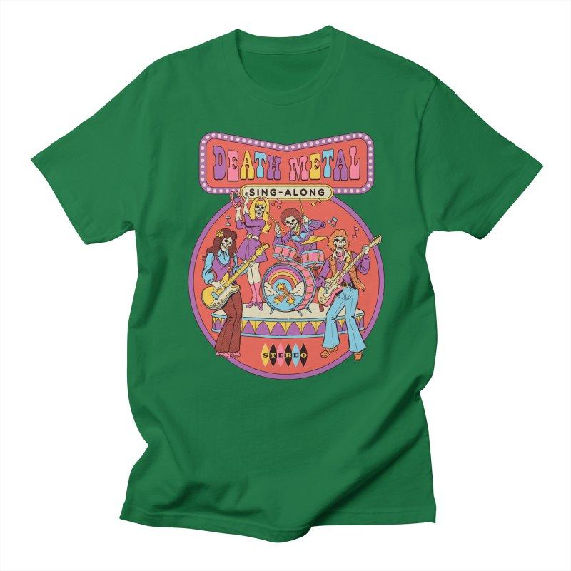 Death Metal Sing-Along Men's Regular T-Shirt by Steven Rhodes