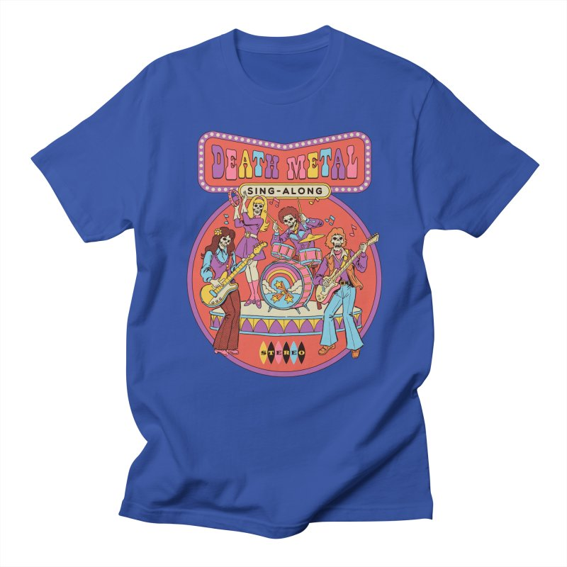 Death Metal Sing-Along Women's Regular Unisex T-Shirt by Steven Rhodes