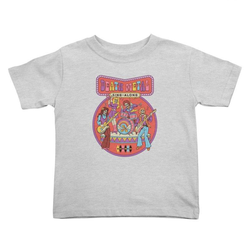 Death Metal Sing-Along Kids Toddler T-Shirt by Steven Rhodes