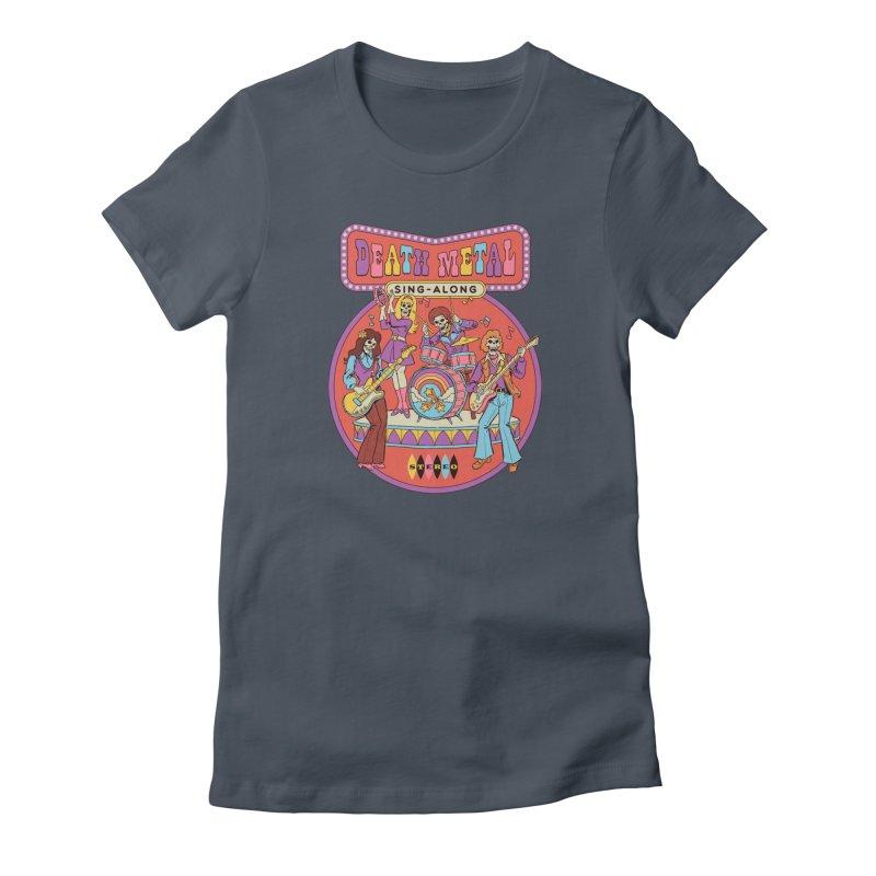 Death Metal Sing-Along Women's T-Shirt by Steven Rhodes
