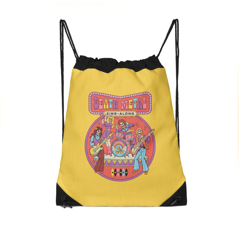Death Metal Sing-Along Accessories Bag by Steven Rhodes