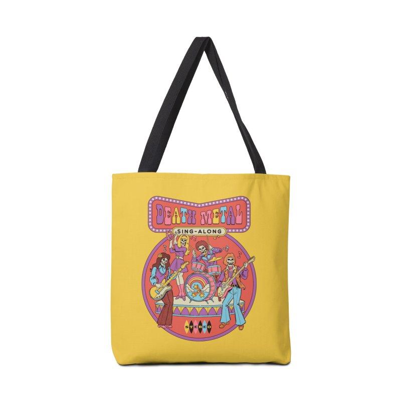 Death Metal Sing-Along Accessories Bag by Steven Rhodes