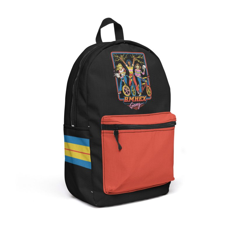 B.M.Hex Gang Accessories Backpack Bag by Steven Rhodes