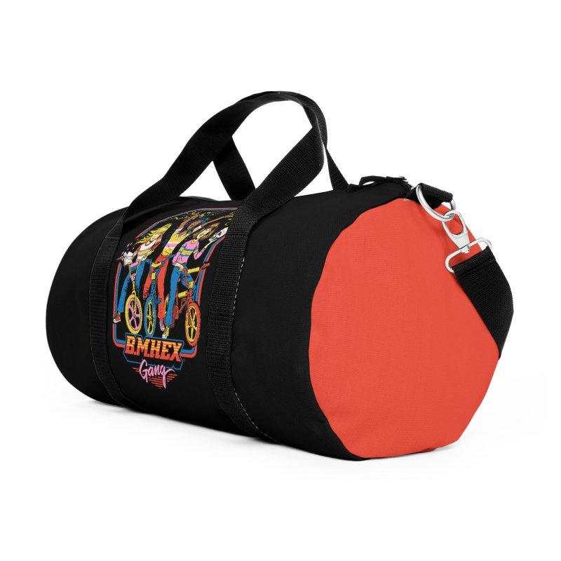 B.M.Hex Gang Accessories Duffel Bag Bag by Steven Rhodes
