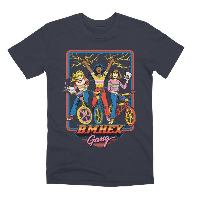 B.M.Hex Gang Men's Premium T-Shirt by Steven Rhodes