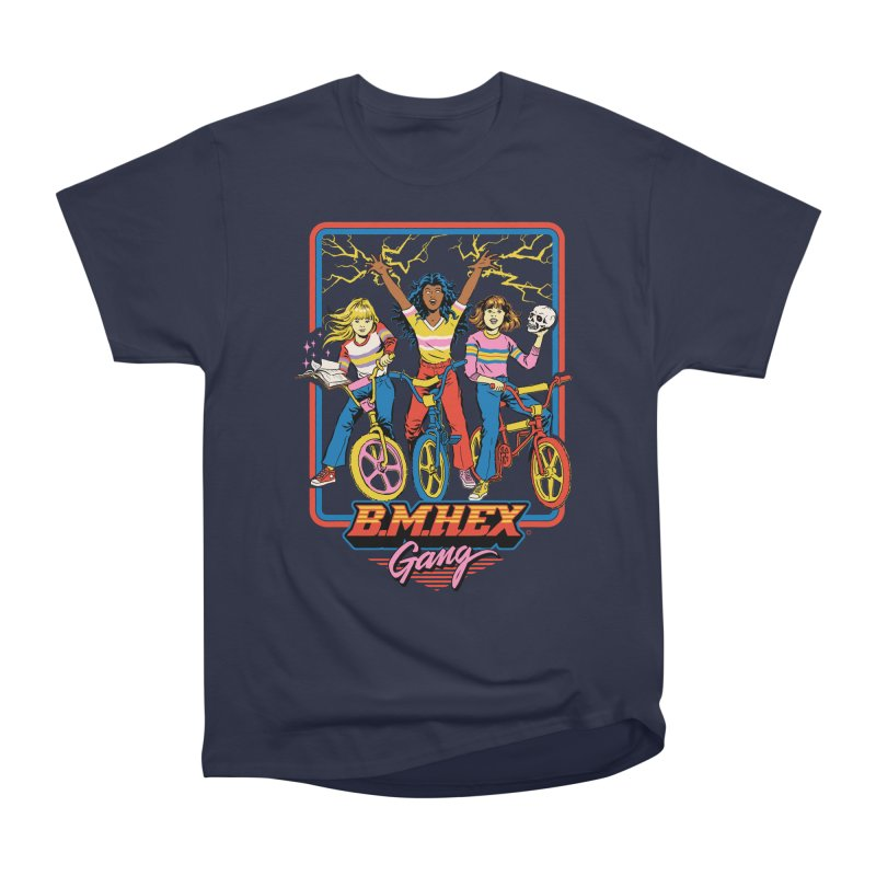 B.M.Hex Gang Women's Heavyweight Unisex T-Shirt by Steven Rhodes
