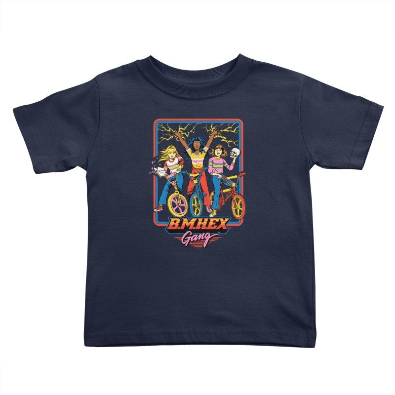 B.M.Hex Gang Kids Toddler T-Shirt by Steven Rhodes