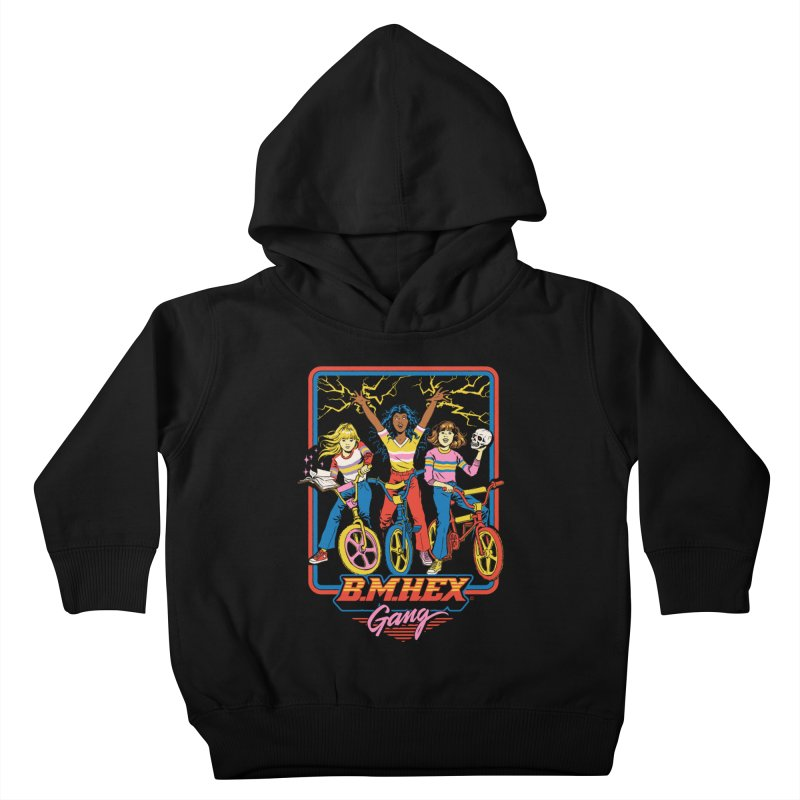 B.M.Hex Gang Kids Toddler Pullover Hoody by Steven Rhodes