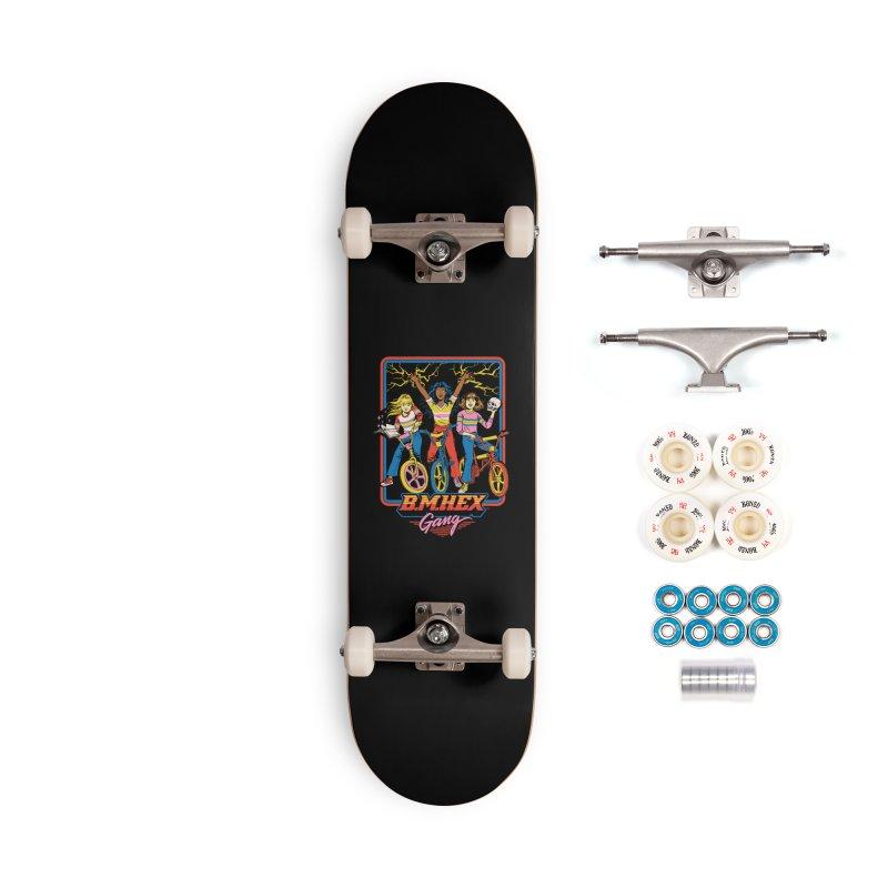 B.M.Hex Gang Accessories Complete - Premium Skateboard by Steven Rhodes