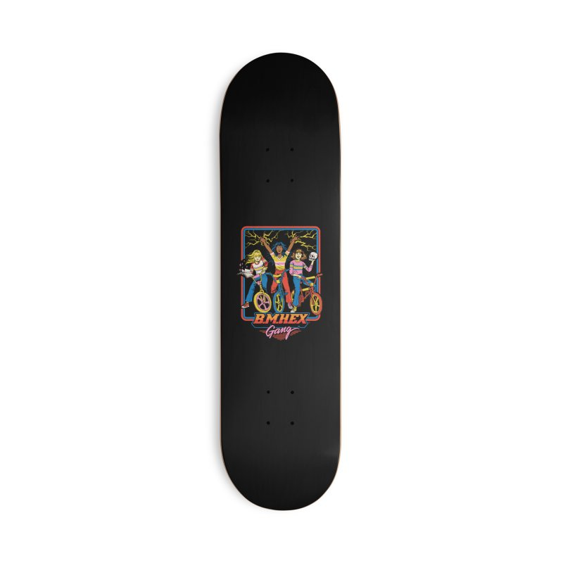 B.M.Hex Gang Accessories Deck Only Skateboard by Steven Rhodes
