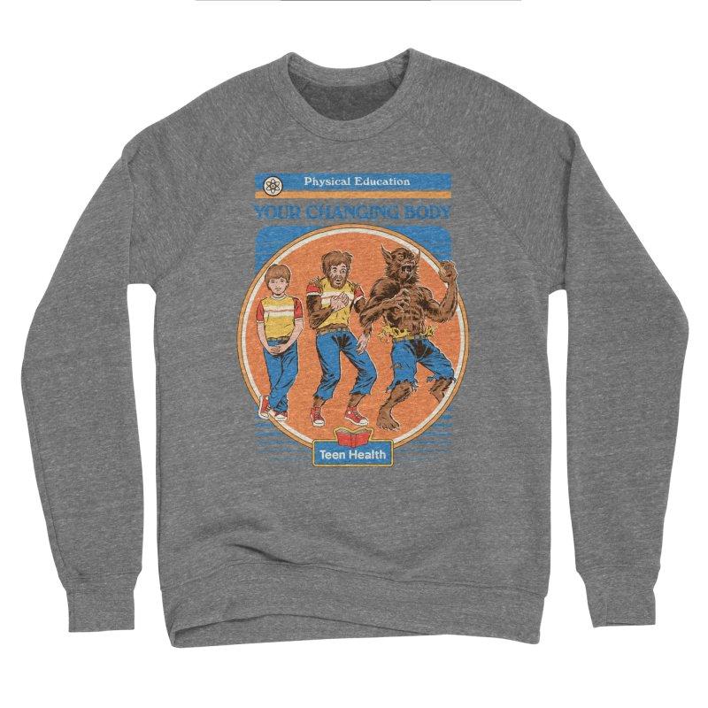 Your Changing Body Men's Sweatshirt by Steven Rhodes