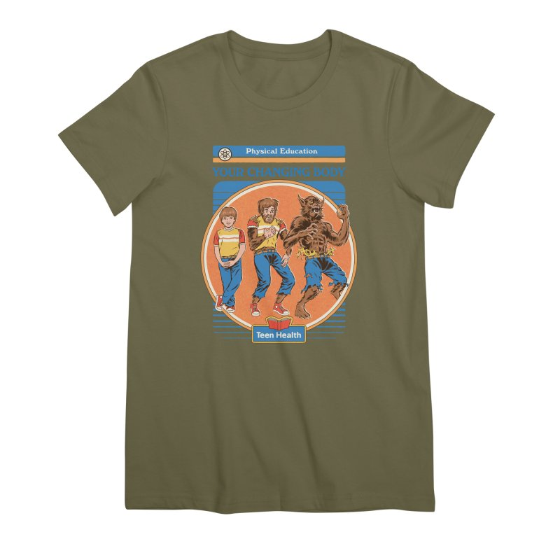 Your Changing Body Women's Premium T-Shirt by Steven Rhodes