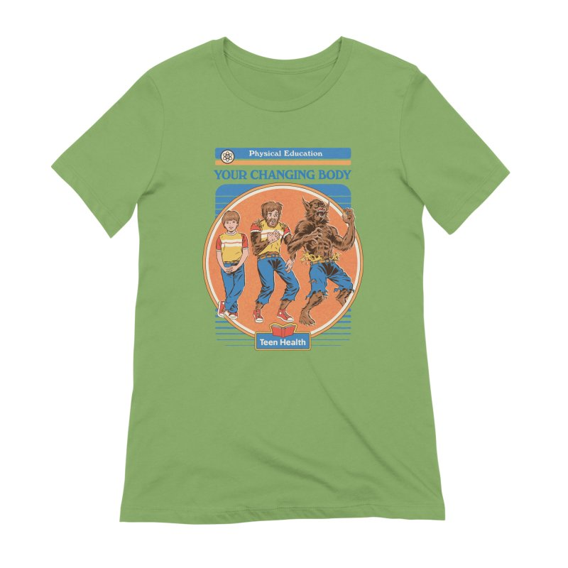 Your Changing Body Women's Extra Soft T-Shirt by Steven Rhodes