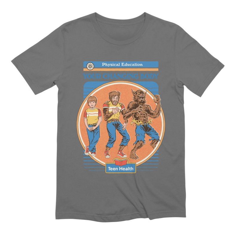 Your Changing Body Men's Extra Soft T-Shirt by Steven Rhodes