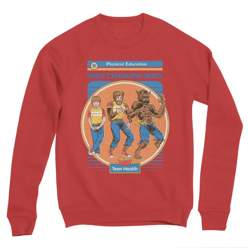 Your Changing Body Women's Sponge Fleece Sweatshirt by Steven Rhodes