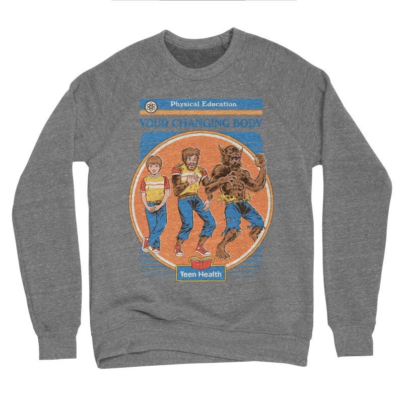 Your Changing Body Men's Sponge Fleece Sweatshirt by Steven Rhodes
