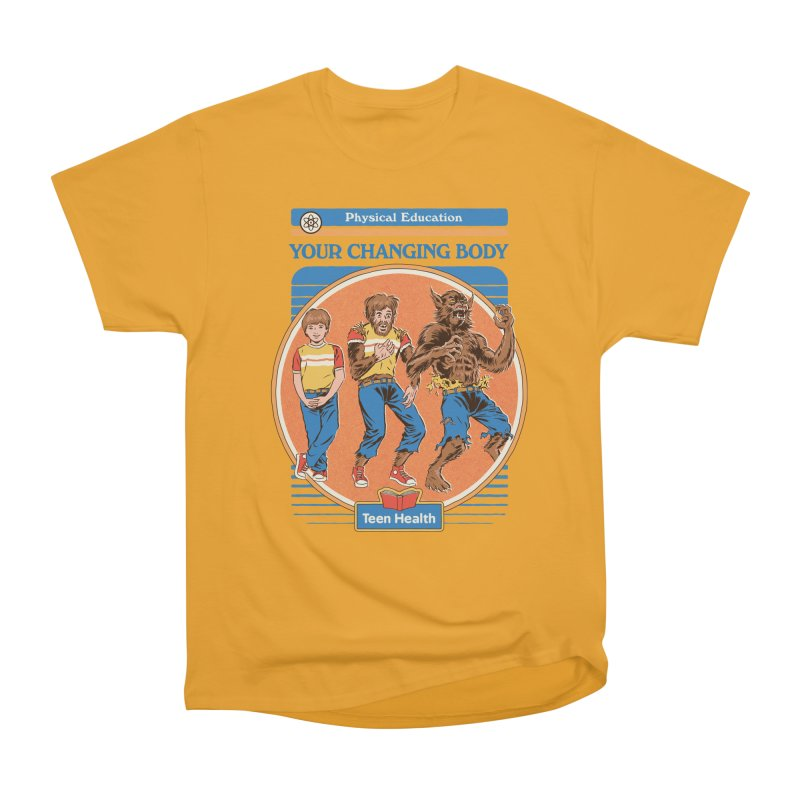 Your Changing Body Men's Heavyweight T-Shirt by Steven Rhodes