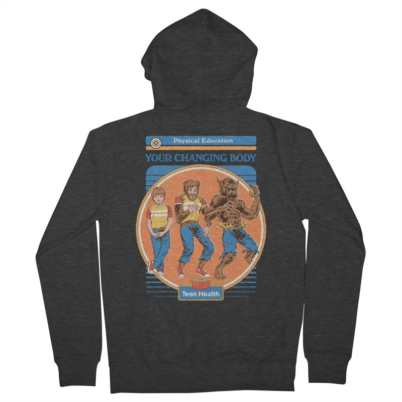 Your Changing Body Men's French Terry Zip-Up Hoody by Steven Rhodes