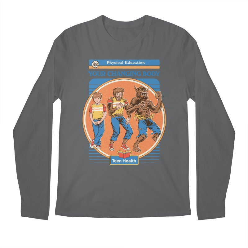 Your Changing Body Men's Regular Longsleeve T-Shirt by Steven Rhodes