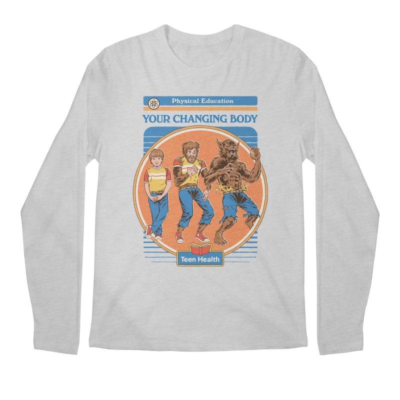 Your Changing Body Men's Regular Longsleeve T-Shirt by Steven Rhodes