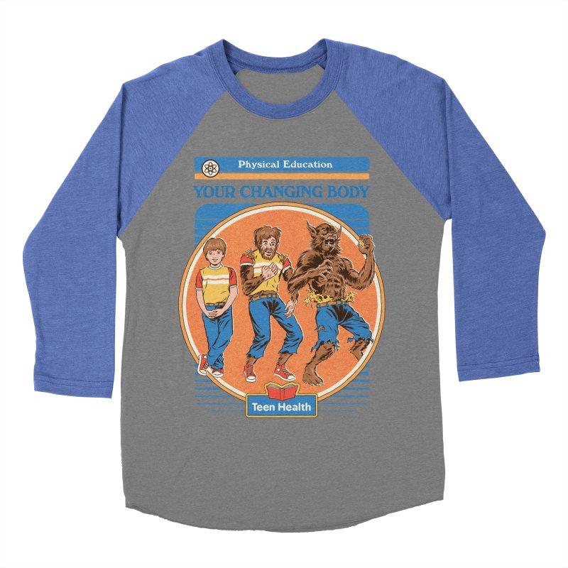 Your Changing Body Women's Baseball Triblend Longsleeve T-Shirt by Steven Rhodes