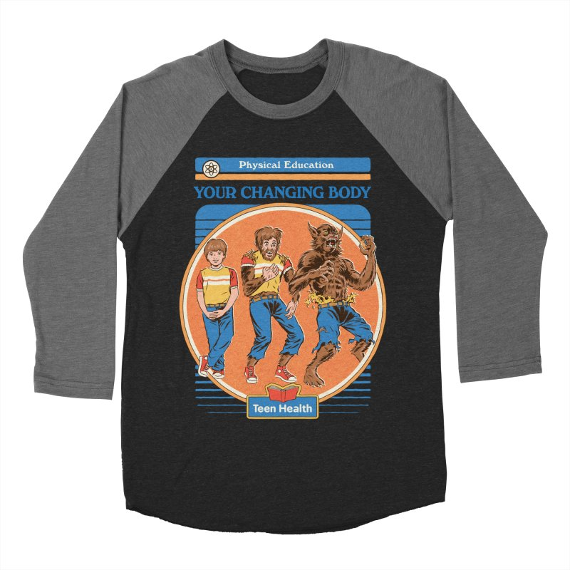 Your Changing Body Men's Baseball Triblend Longsleeve T-Shirt by Steven Rhodes