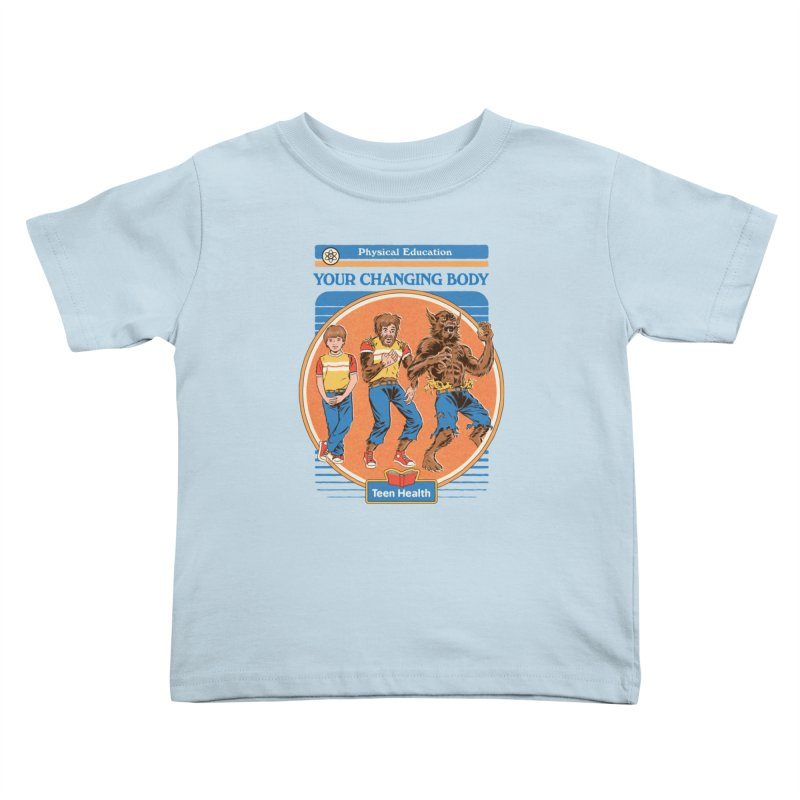Your Changing Body Kids Toddler T-Shirt by Steven Rhodes