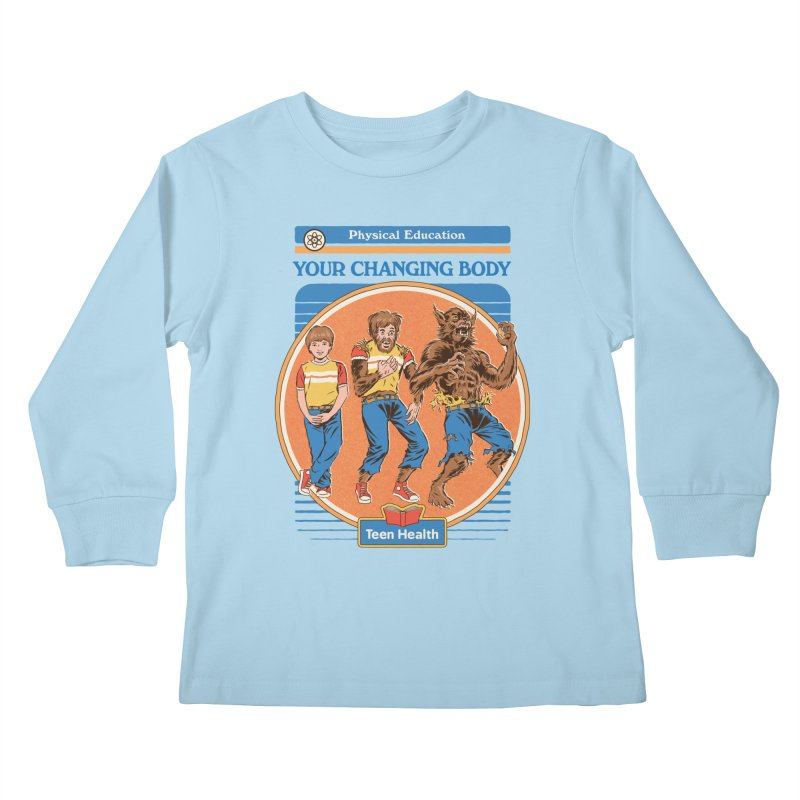 Your Changing Body Kids Longsleeve T-Shirt by Steven Rhodes