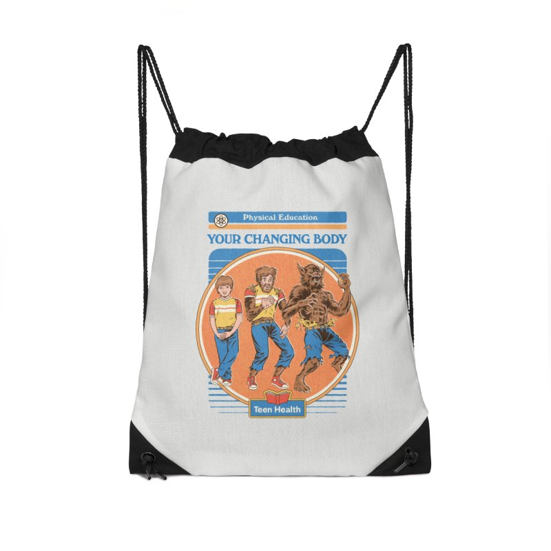 Your Changing Body Accessories Drawstring Bag Bag by Steven Rhodes