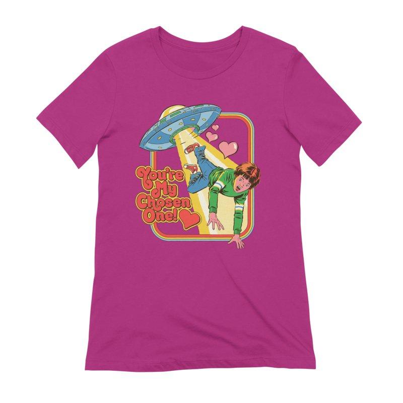 My Chosen One Women's Extra Soft T-Shirt by Steven Rhodes