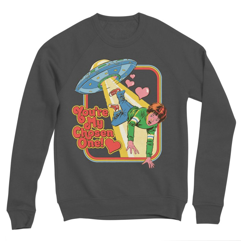 My Chosen One Men's Sponge Fleece Sweatshirt by Steven Rhodes
