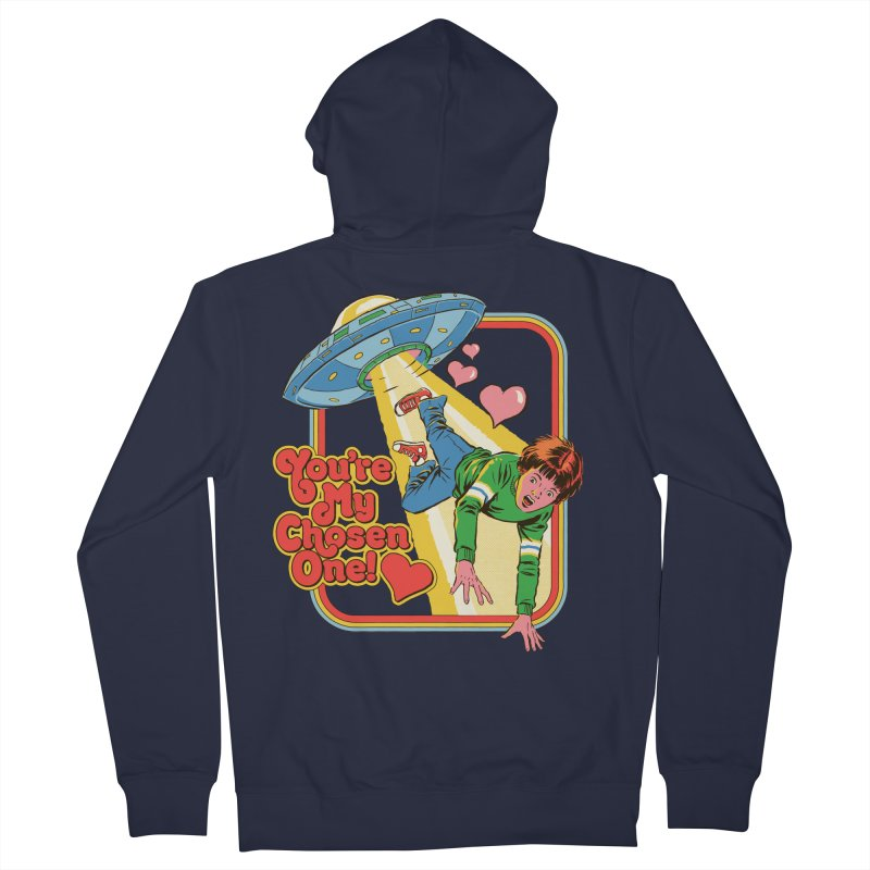 My Chosen One Men's French Terry Zip-Up Hoody by Steven Rhodes