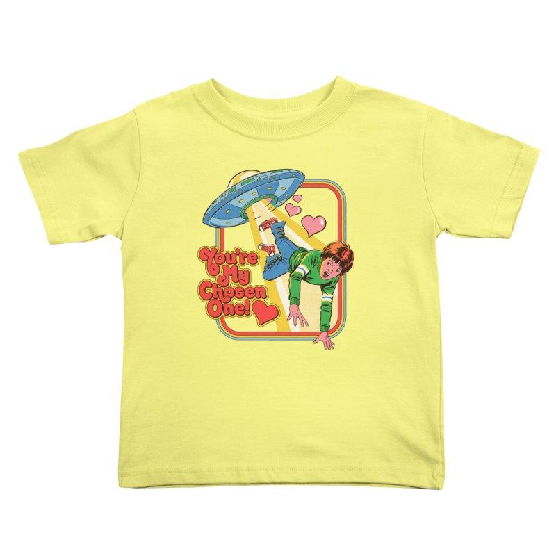 My Chosen One Kids Toddler T-Shirt by Steven Rhodes