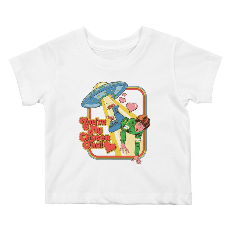 My Chosen One Kids Baby T-Shirt by Steven Rhodes