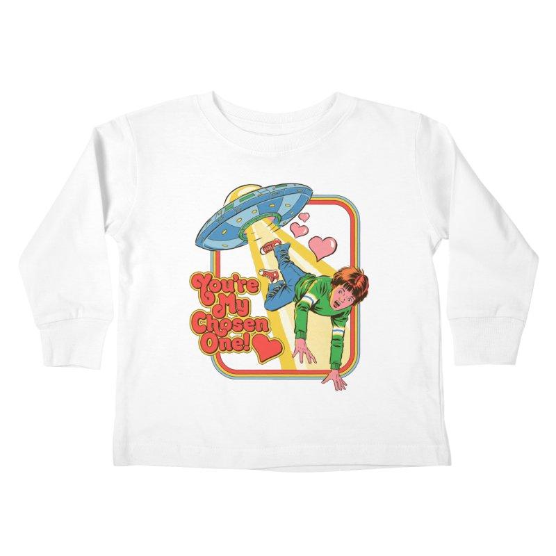 My Chosen One Kids Toddler Longsleeve T-Shirt by Steven Rhodes