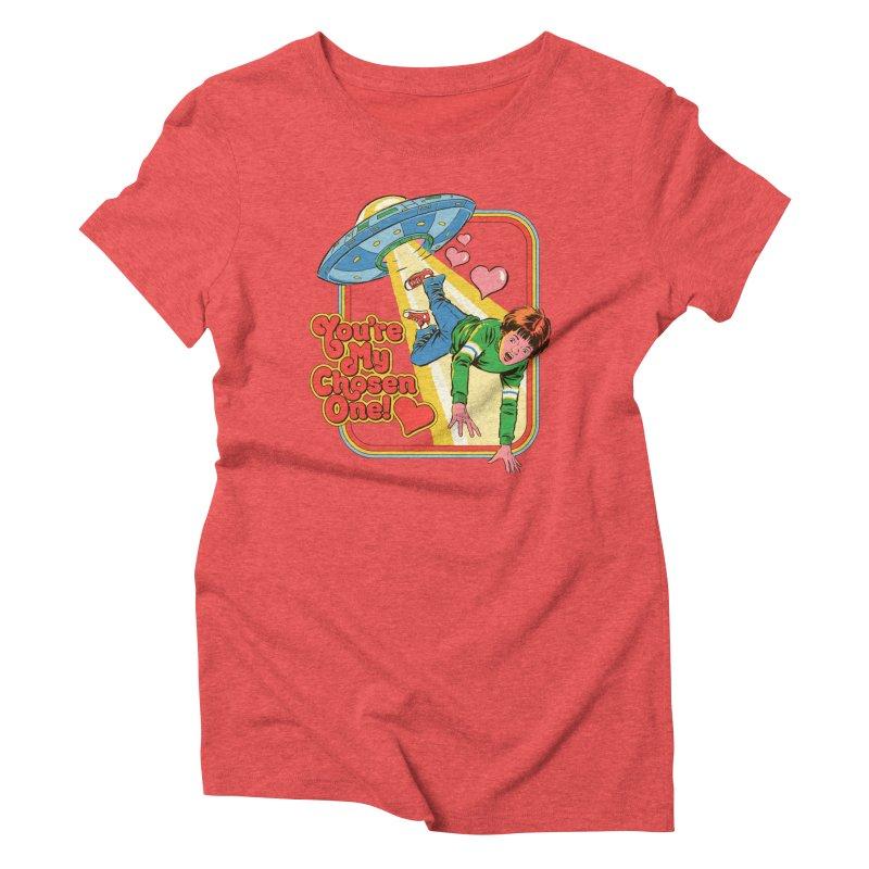 My Chosen One Women's Triblend T-Shirt by Steven Rhodes